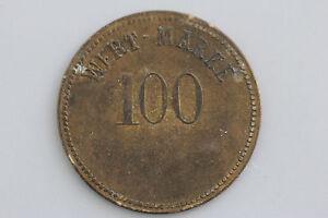 1 Stück Alte Münze Wertmarke Biermarke Mit Dem Aufdruck Wert Marke