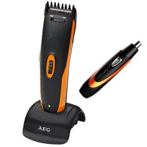 AEG-Haarschneider-Haarschneidemaschine-Bartschneider-Nasenhaartrimmer-Rasierer