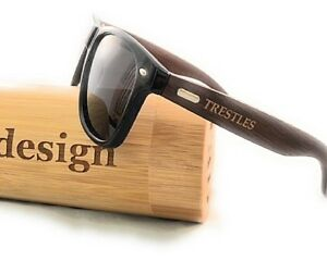 1cb717030e7c9 Image is loading SunglassesWooden-Sunglasses-by-T3D-Surf-Collection-Bamboo -Black