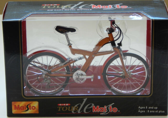 New Tour de Maisto 1:12 Die Cast Metal BMW Q5.T Bike Bicycle Miniature Unopened