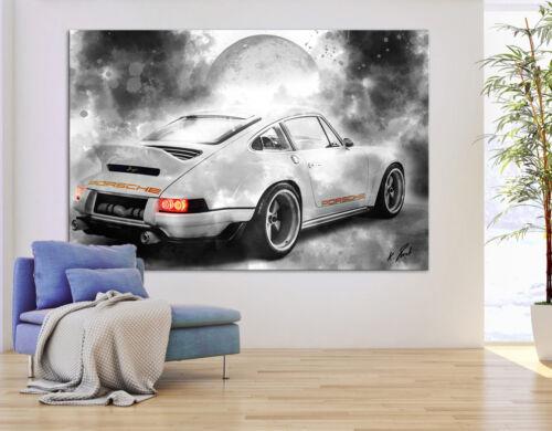 Auto Porsche Carrera Sportwagen Bild Leinwand Abstrakte Bilder Wandbilder D1559