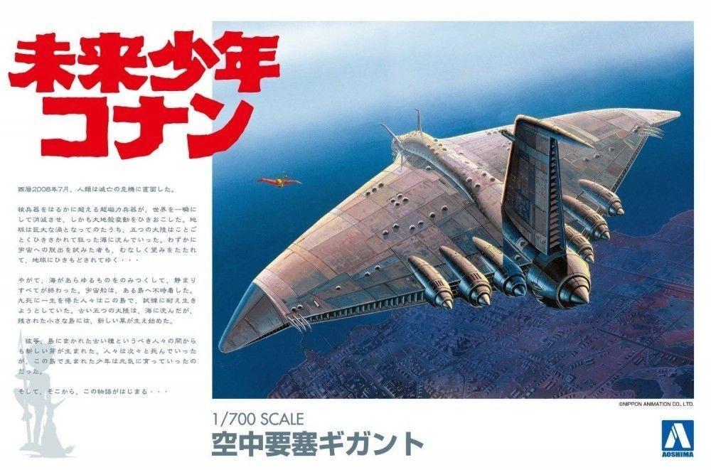 Aoshima 004326 1 700 Future Boy Conan Gigant scale kit