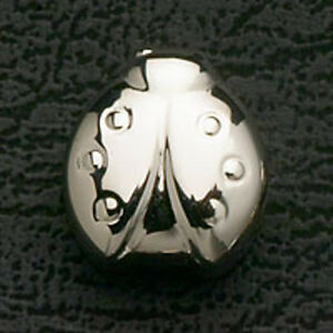 Lady-Bug-Loose-Beads-Stainless-Steel-Fit-European-Charm-Bracelet-Free-Shipping