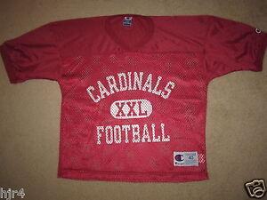 Arizona-Cardinals-NFL-Practice-Champion-Red-Game-Worn-Jersey-M-40