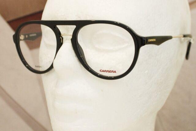 f7ddc666292 new CARRERA 137 V eyeglasses Frame 2M2 BLACK GOLD 53mm MEN AUTHENTIC