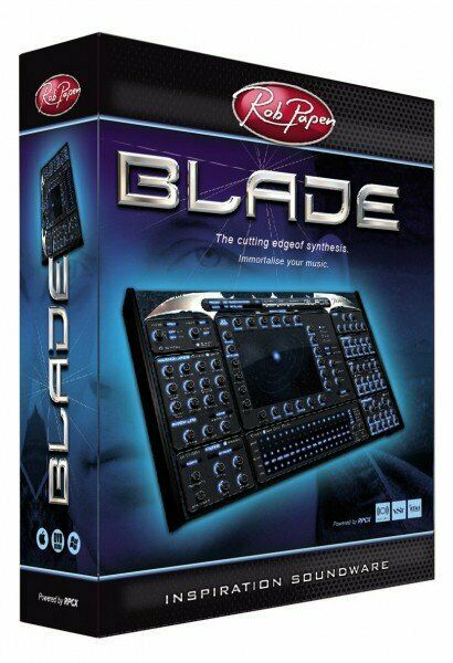 Rob Papen Blade Virtual Software Synth - Brand New