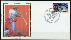 UNITED-STATES-COLORANO-1992-BASEBALL-FIRST-DAY-COVER