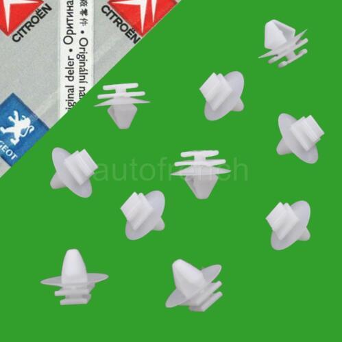 GENUINE Peugeot Door Moulding Clips 106 206 207 306 307 806 Partner Expert