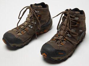 a96aa707051f8f Men's Oboz Bridger Mid BDry WP Waterproof Hiking Trail Boots Shoes ...