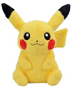 POKEMON Fluffy Big almost life-size Pikachu Plush Doll Limited Japan NEW