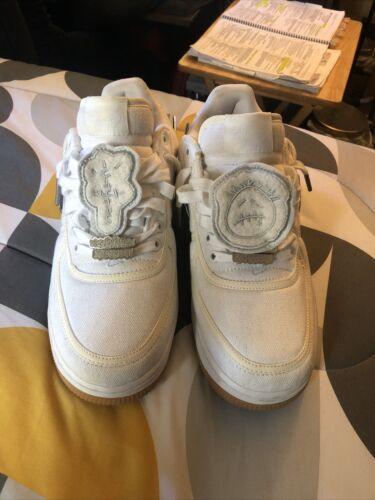 Size 10 - Nike Air Force 1 x Travis Scott Sail SLI