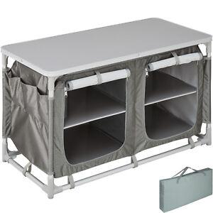 Armadietto da campeggio alluminio tavolo box cucina da esterni ...