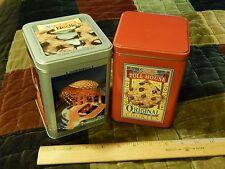 "Nestle Toll House + Walt Disney World [METAL TINs] LOT ""Mickey's Cookie Recipe"""