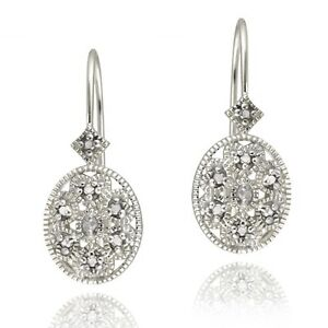 925-Sterling-Silver-Diamond-Accent-Filigree-Leverback-Earrings