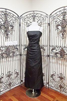 Kleidung & Accessoires PüNktlich A884 Marisa Baratelli Ebenholz Sz 10 Formelles Kleid Kleid Exquisite Handwerkskunst;