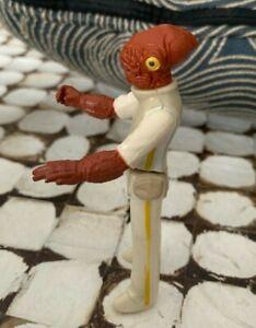Vintage Star Wars Admiral Ackbar action figure Original Vintage 1982 Kenner