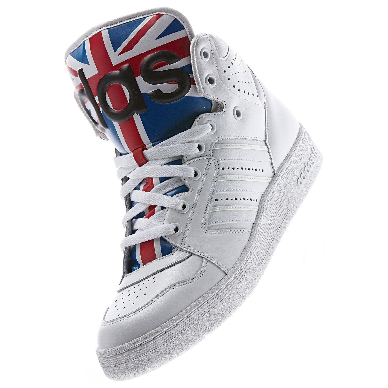 fd72881d4a40 ... Adidas Adidas Adidas Originals Men s Jeremy Scott Instinct Hi Union  Shoes Sizes 4.5 us D65204 81da33 ...