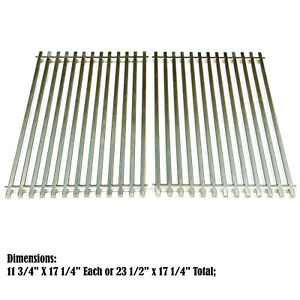 Details about Heavy Duty Stainless Steel Grates Replacement for Weber  Genesis Silver B & C BBQ