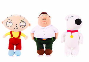 NEW-OFFICIAL-7-034-9-034-11-034-15-034-FAMILY-GUY-SOFT-TOY-PLUSH-STEWIE-PETER-BRIAN-GRIFFIN