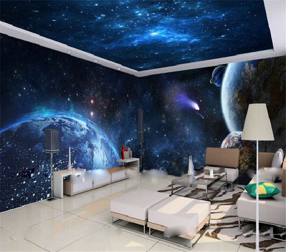 The Good Starry Sky 3D Full Wall Mural Photo Wallpaper Printing Home Kids Decor