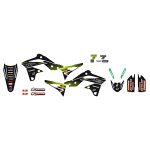 Adesivi-grafiche-Kawasaki-Kxf-250-2013-2014-2015-2016-moto-cross-Racing-Team