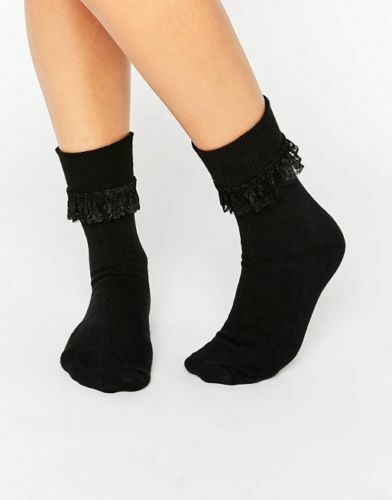 3 Pack Girl/'s Frill Lace Top Ankle High Socks UK 12.5-3.5 RRP £9.99  New In Pack