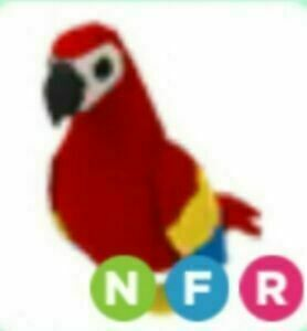 Roblox Adopt Me Legendary Ride Fly Neon Parrot Ebay