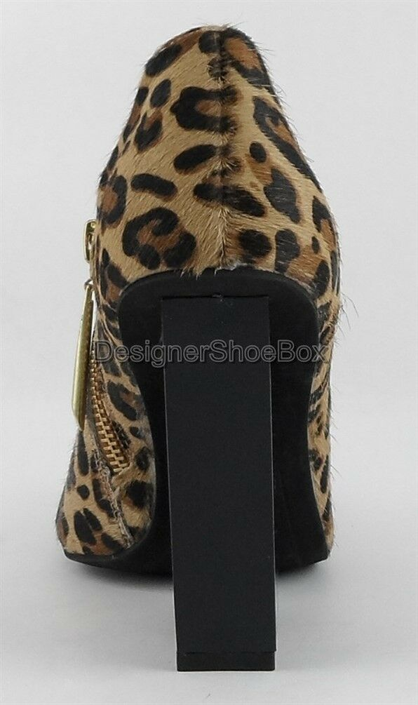 166 VOGUE TRUE BALANCE BALANCE BALANCE Cheetah Calf Hair Designer Fashion Ankle Boots Booties 6 0b449d