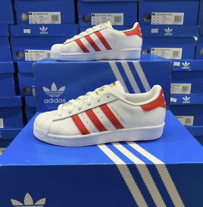Details about Adidas Men Women Superstar Athletic Shoes Sneakers White EE8727 Sz 4 12