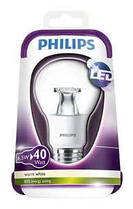 Philips-LED-40W-House-Clear-Bulb-Lamp-E27-Lumen-2700K-6-5-W-Warm-White-470lm