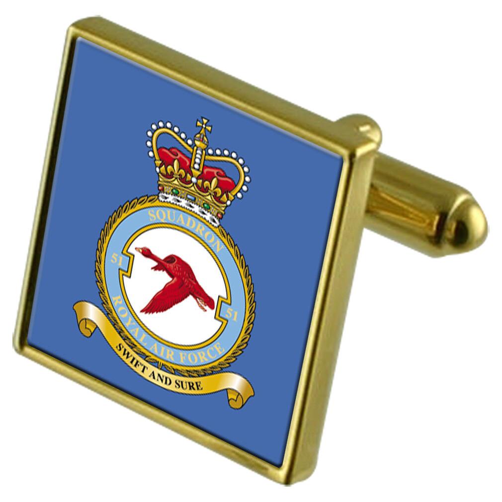 Royal Air Force Force Force 3 Field Comunicazione Squadron oro Gemelli 265e5f