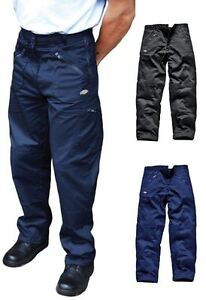 Mens Dickies Action Professional Workwear Cargo Heavy Duty Zip Pocket Trousers