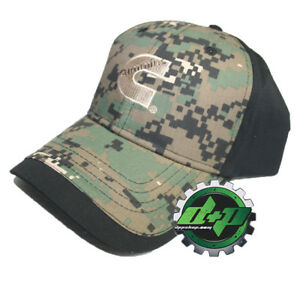 1b960ca3 Dodge Cummins baseball hat cap black green digi digital camo trucker ...