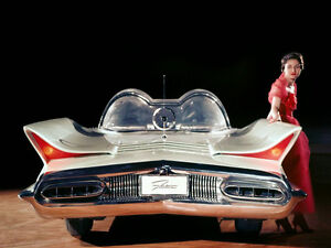 1955 Lincoln Futura Concept Car 11 X 14 Photo Print Ebay