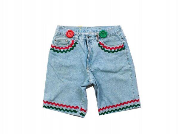 *d Henri Siegel Mens Jean Shorts Vintage Jeans L