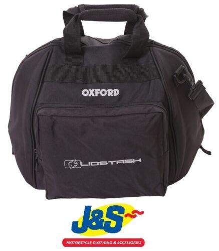 Oxford Products Lidstash Motorcycle Helmet Bag Crash Lid Carrier Black J&S