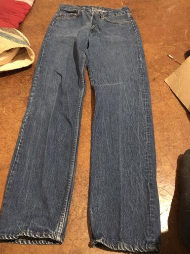 Vintage Levis 501 0113 Denim Pants USA 31x34 80s 9