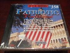 CHARTBUSTER 6+6 KARAOKE DISC 20358 PATRIOTIC TRADITIONAL VOL 7 CD+G MULTIPLEX