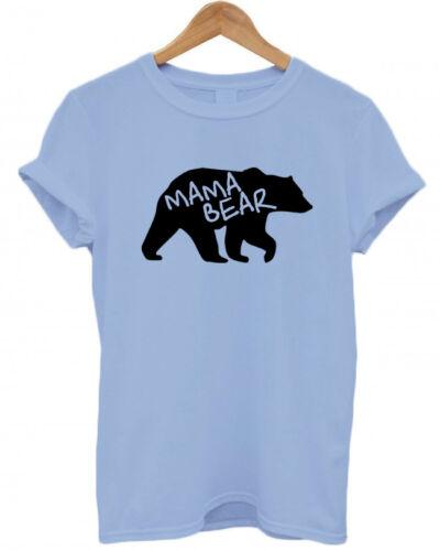Matching Set T Shirt Mum// Baby //Dad// Baby Shower unisex Baby Bear Mama Bear
