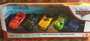 CARS-3-PISTON-CUP-RACE-5-Pack-Next-Gen-LEAK-LESS-52-RACELOTT-Mattel-Disney