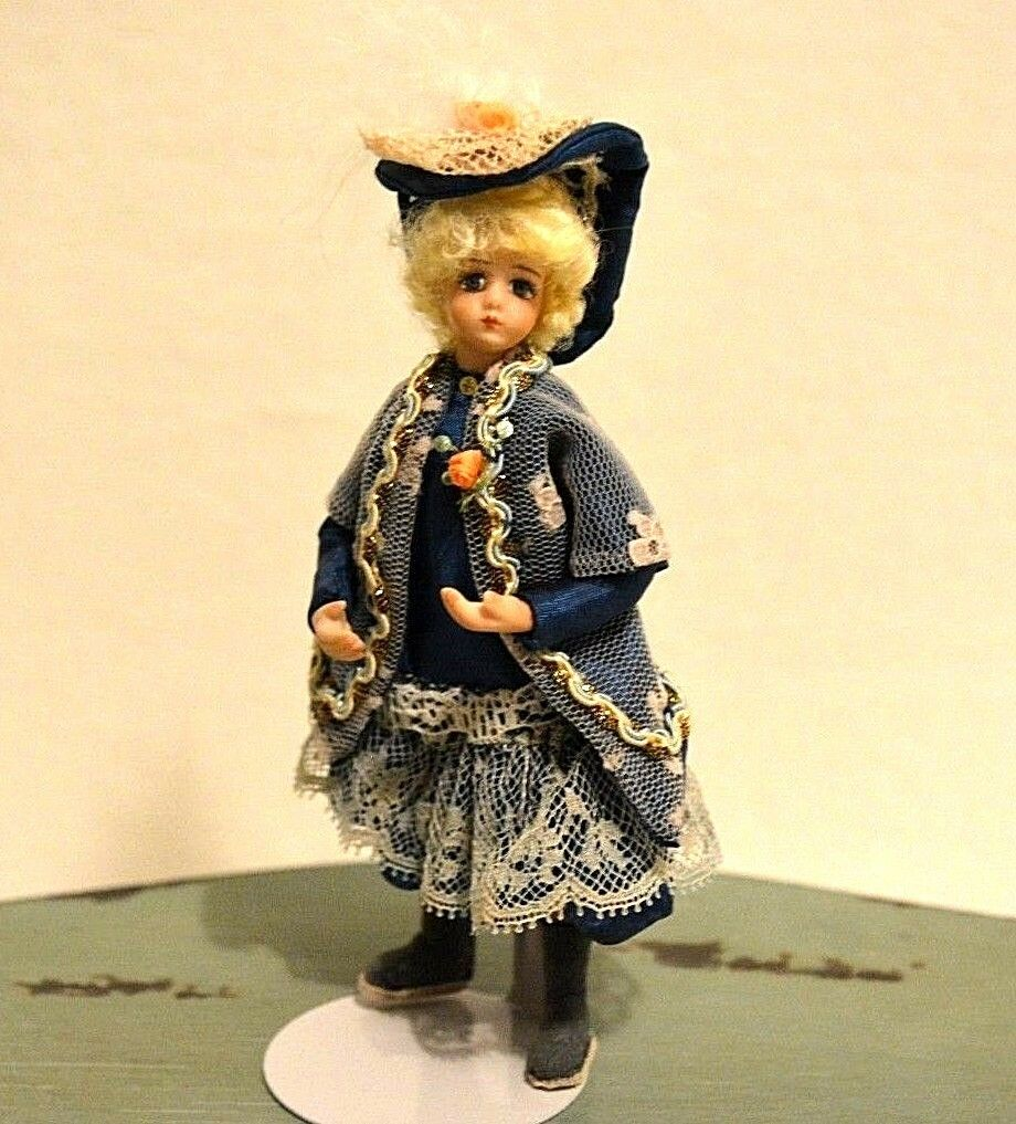 Miniature Doll Porcelain Girl Dollhouse 1 12 Pirate