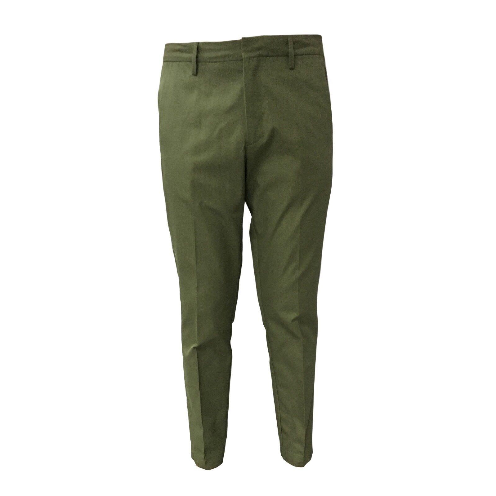 TISSUE' Herrenhosen grün Reißverschluss mod TPM00501 TPM00501 TPM00501 100% Baumwolle 2affcd