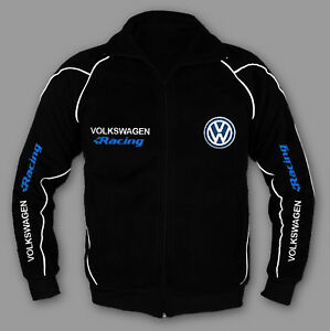 volkswagen vw racing jacke sweatjacke sweater pullover gti. Black Bedroom Furniture Sets. Home Design Ideas