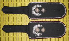 Schulterklappen Rangabzeichen Heer Hemd bordeaux Oberstleutnant ##1792