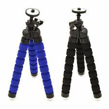 Mini Flexible Foam Octopus Tripod Stand for SLR DSLR Camera Universal Black