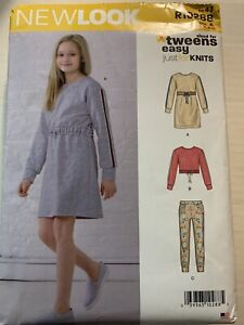 NEW SIMPLICITY SEWING PATTERN H0183 8-16 6592 TWEENS DRESS JACKET LEGGINGS Sz