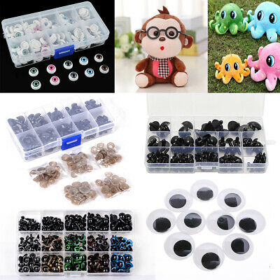 200 Pcs Pack Googly Eyes 3 Sizes Cardmaking For Crafts Bears Dolls