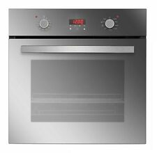 Black Empava 24 Tempered Glass LED Digital Touch Controls Electric Built-in Single Wall Oven 2800W 110V