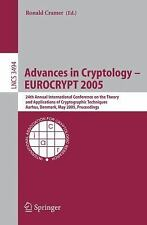 Lecture Notes in Computer Science / Security and Cryptology Ser.: Advances in...