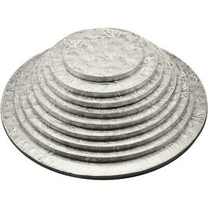 """Round /& Square Cake Drum Board 12mm Thick 4/"""" Pack of 1 24/"""" 5 /& 10 Free P/&P"""